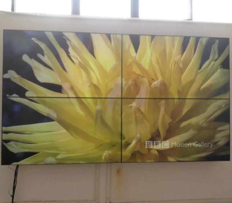 上海液晶拼接屏展览展示解决方案