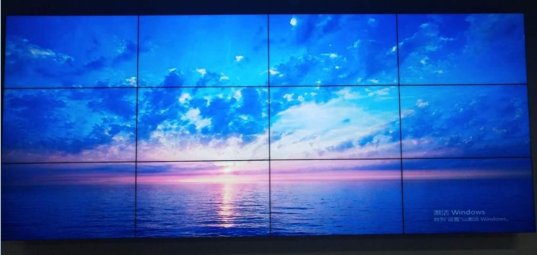 上海素希46寸液晶拼接屏成功助力上海滴水湖景区