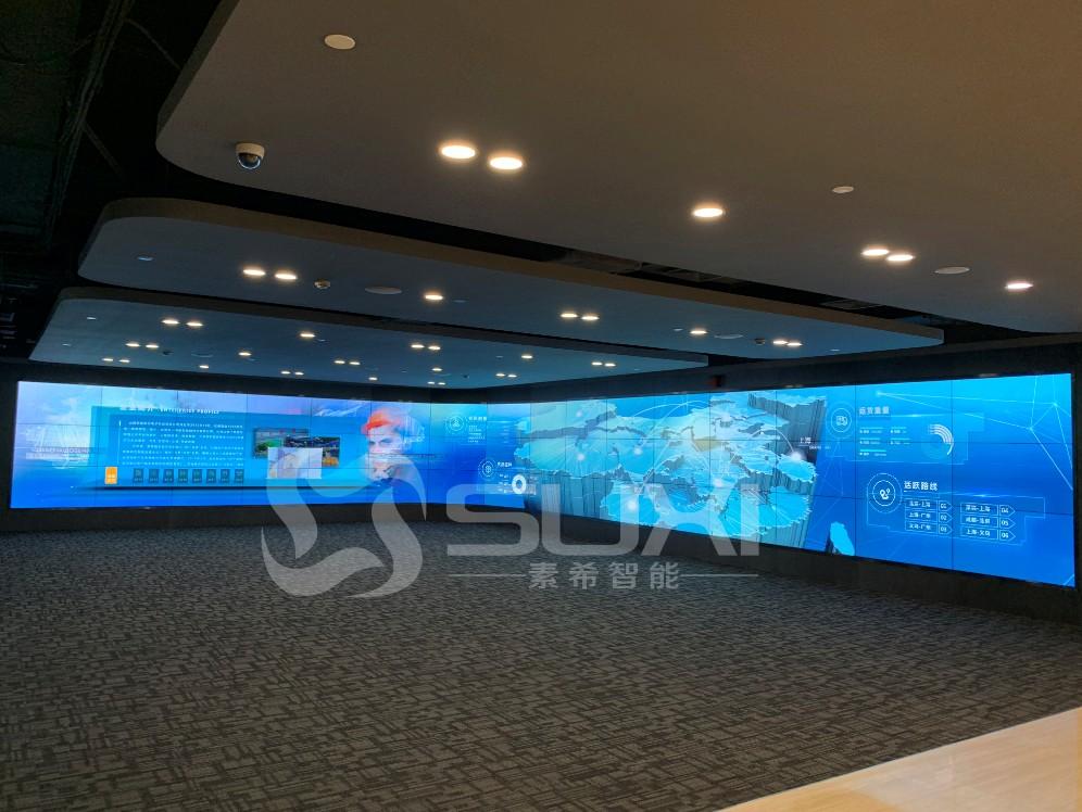 3*16展厅大屏幕液晶拼接屏案例图片展示