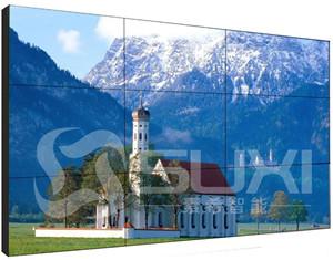 移动液晶拼接屏可以互动的大屏幕拼接电视墙