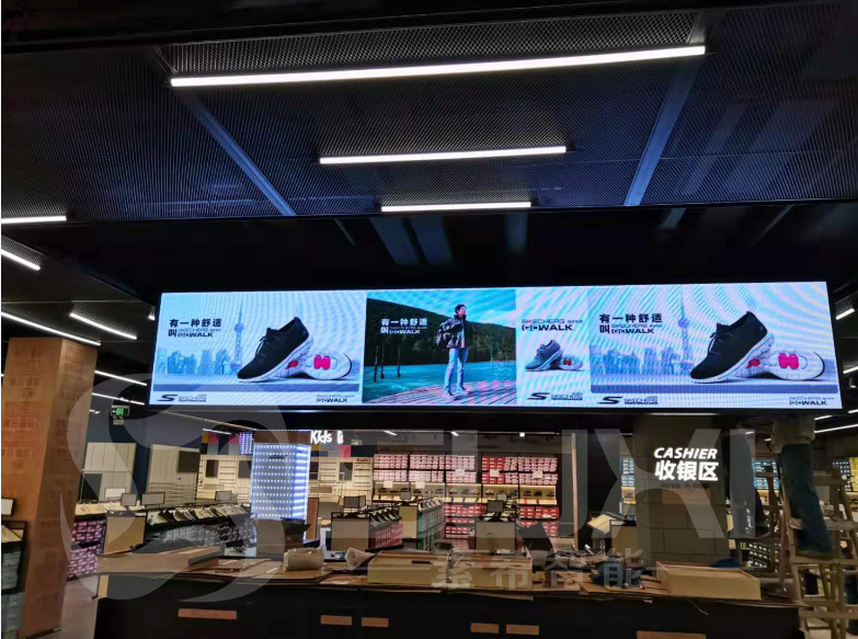 商场专卖店广告宣传LED室内全彩显示屏P3.0案例