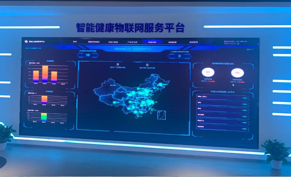 素希LED室内全彩显示屏入驻上海展厅