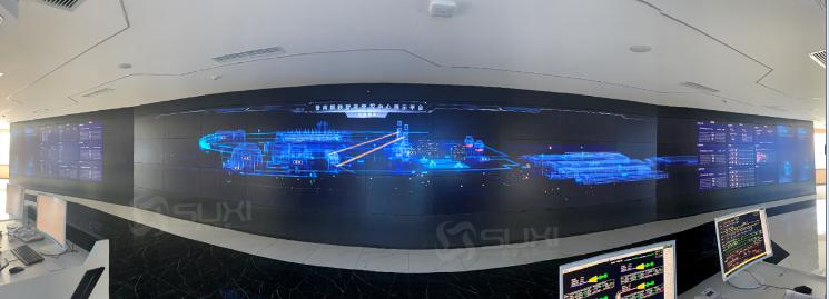 可视化展厅液晶大屏幕拼接屏